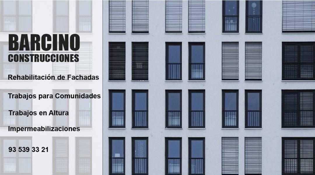 Rehabilitaciones en Fachadas y Edificios